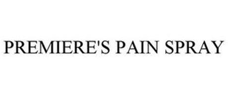 PREMIERE'S PAIN SPRAY