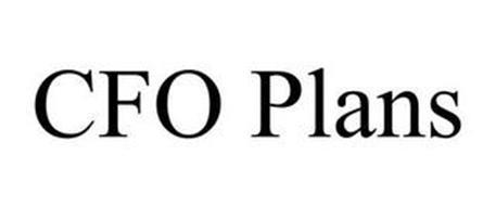 CFO PLANS