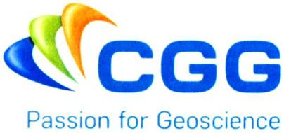 CGG PASSION FOR GEOSCIENCE