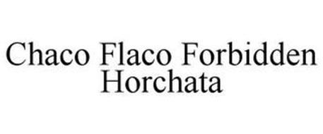CHACO FLACO FORBIDDEN HORCHATA