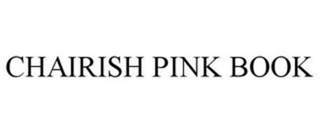CHAIRISH PINK BOOK
