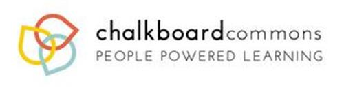 CHALKBOARDCOMMONS PEOPLE POWERED LEARNING