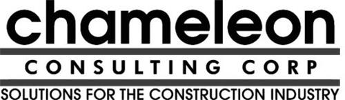 CHAMELEON CONSULTING CORP SOLUTIONS FORTHE CONSTRUCTION INDUSTRY