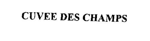 CUVEE DES CHAMPS