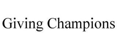 GIVING CHAMPIONS