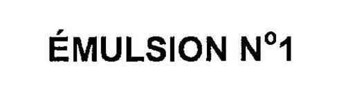 EMULSION NO 1
