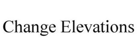 CHANGE ELEVATIONS