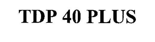 TDP 40 PLUS