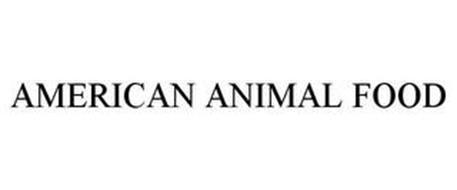 AMERICAN ANIMAL FOOD