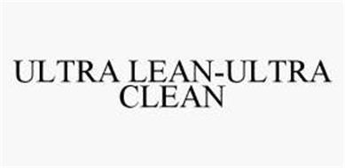 ULTRA LEAN-ULTRA CLEAN
