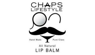 CHAPS LIFESTYLE HAND MADE PURE CLASS ALL NATURAL LIP BALM
