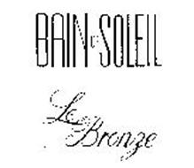 BAIN DE SOLEIL LE BRONZE