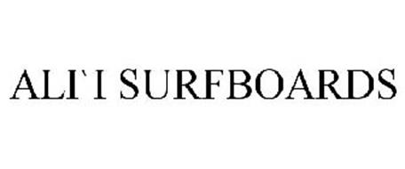 ALI`I SURFBOARDS
