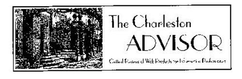 THE CHARLESTON ADVISOR CRITICAL REVIEWS OF WEB PRODUCTS FOR INFORMATION PROFESSIONALS