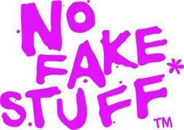 NO FAKE STUFF