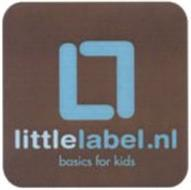LL LITTLELABEL.NL BASICS FOR KIDS
