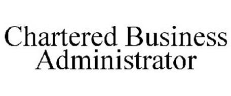 CHARTERED BUSINESS ADMINISTRATOR