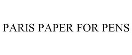 PARIS PAPER FOR PENS