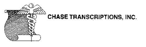 CHASE TRANSCRIPTIONS, INC.