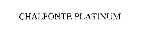 CHALFONTE PLATINUM