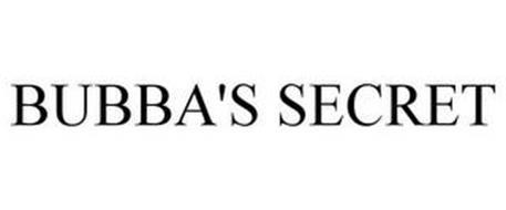 BUBBA'S SECRET