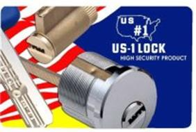 US # 1 US-1 LOCK HIGH SECURITY PRODUCT