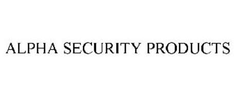 ALPHA SECURITY PRODUCTS