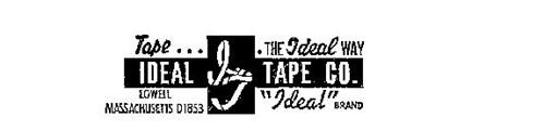 """IDEAL TAPE CO.  IT TAPE...THE IDEAL WAY LOWELL MASACHUSETTS 01852 """"IDEAL""""BRAND"""