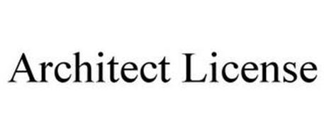 ARCHITECT LICENSE
