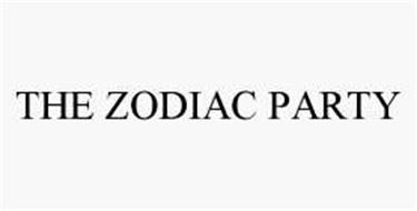THE ZODIAC PARTY