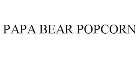 PAPA BEAR POPCORN