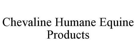 CHEVALINE HUMANE EQUINE PRODUCTS