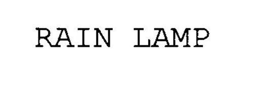 Rain Lamp Trademark Of Cheyenne Industries Inc Serial