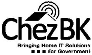 CHEZBK BRINGING HOME IT SOLUTIONS FOR GOVERNMENT