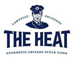 LAWFULLY DELICIOUS THE HEAT AUTHENTIC CHICAGO STYLE PIZZA