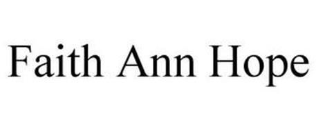 FAITH ANN HOPE