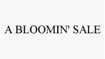 A BLOOMIN' SALE