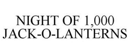 NIGHT OF 1,000 JACK-O-LANTERNS