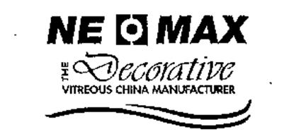 NE MAX THE DECORATIVE VITREOUS CHINA MANUFACTURER