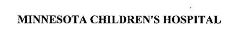 MINNESOTA CHILDREN'S HOSPITAL