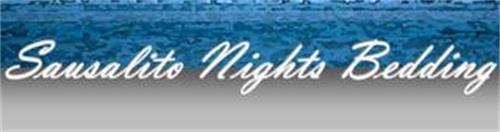 SAUSALITO NIGHTS BEDDING