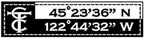 """CTC 45° 23' 36"""" N 122° 44' 32"""" W"""