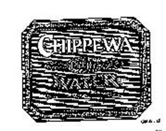 """CHIPPEWA PURE WATER """"YOU CAN TASTE THE DIFFERENCE ]"""""""