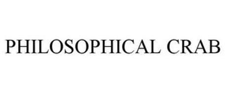 PHILOSOPHICAL CRAB