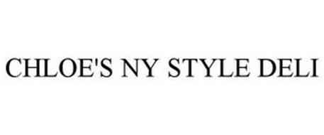 CHLOE'S NY STYLE DELI