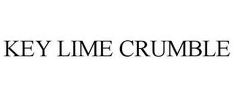 KEY LIME CRUMBLE