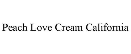 PEACH LOVE CREAM CALIFORNIA