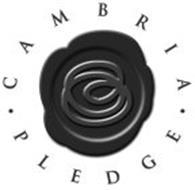 · CAMBRIA · PLEDGE