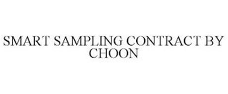 SMART SAMPLING CONTRACT BY CHOON