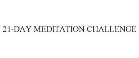 21-DAY MEDITATION CHALLENGE